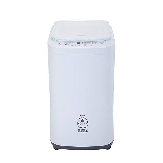 Minibaby Mini Baby 3.5kg Baby Baby Máy giặt Mini tự động XQB35-168 (Standard, Crystal White)