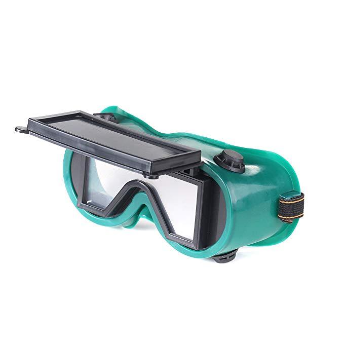 ATOPLEE 2 cái hàn cắt hàn * kính lật màu xanh đậm kính ống kính