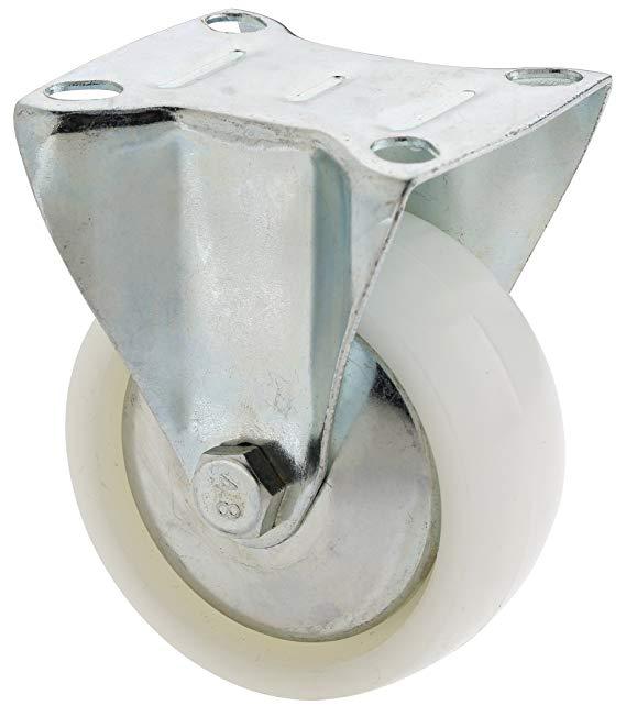 Steelex D2625 bánh xe bằng nhựa, 7.62 cm, thép không gỉ cố định