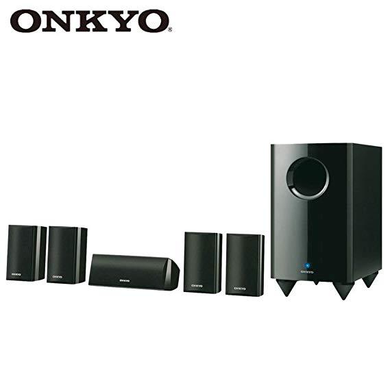 Onkyo SKS-HT528 (B) Loa âm thanh rạp hát gia đình 5.1 Kênh Dolby Surround