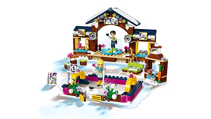 Đồ chơi LEGO Lắp Ráp kiểu mô hình loại trượt tuyết và khu nghỉ mát - 41322 .