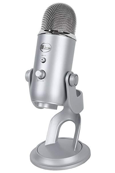 Màu xanh Yeti Studio Snowman Studio Tụ Microphone Ghi Âm / Mạng K bài hát / ca hát bộ
