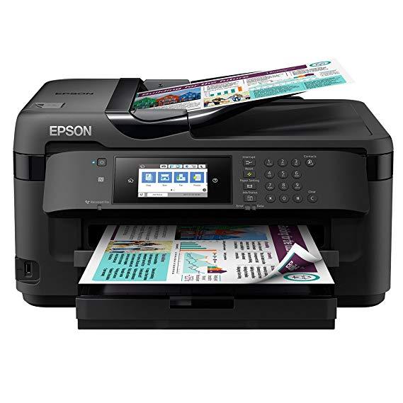 Epson Epson WorkForce WF-7710DWF A3 Máy in mạng không dây, máy quét quét và máy fax