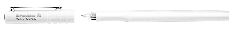 Schneider Bút Mực Máy - BK406 Rất tốt EF tip (trắng) mới.