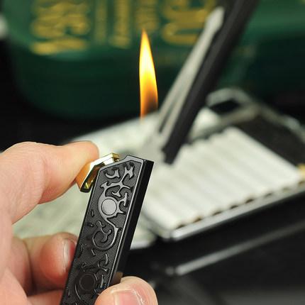Đôi súng bơm hơi nhẹ hơn của Nam Giới cá tính sáng tạo Mini kim loại Có Thể được nạp vào các trường