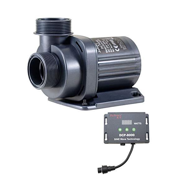 Jebao DCP Sine Wave trở lại máy bơm nước DCP-8000