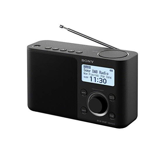 Sony Sony XDRS61DB.CEK radio kỹ thuật số di động với âm thanh chất lượng cao - đen