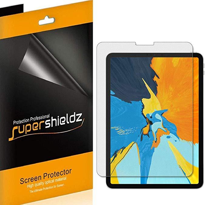 Supershieldz [3 Pack] cho Apple iPad Pro màn hình bảo vệ màn hình 11 inch, chống lóa và chống vân ta