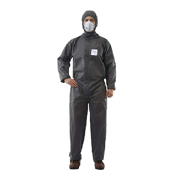 Đóng cửa bằng polypropylene dùng một lần với mui xe, còng đàn hồi, mắt cá chân, eo, trung tính, quần