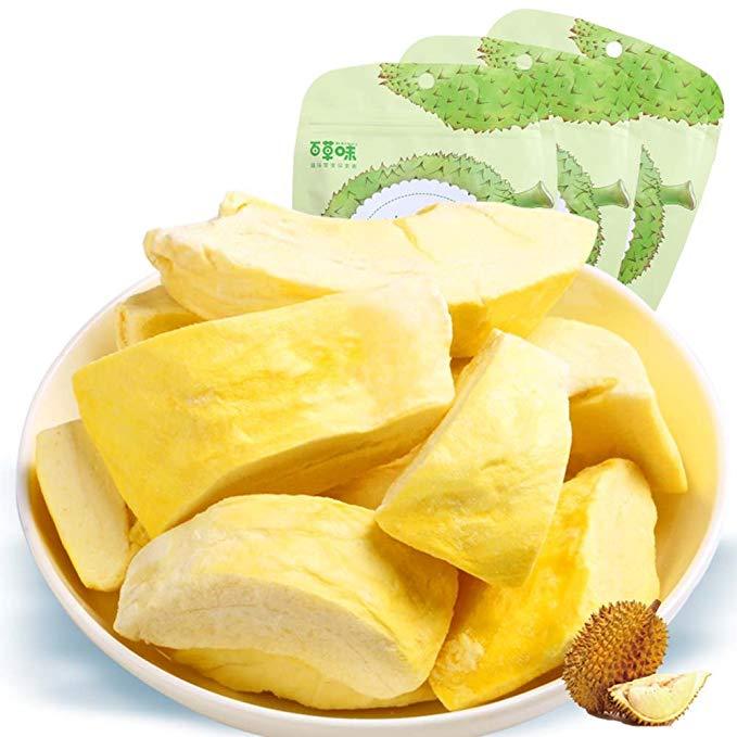BE & CHEERY Herbs Thực phẩm Đặc biệt Nuts Rang Nuts (Durian khô 30gx4 Bag)