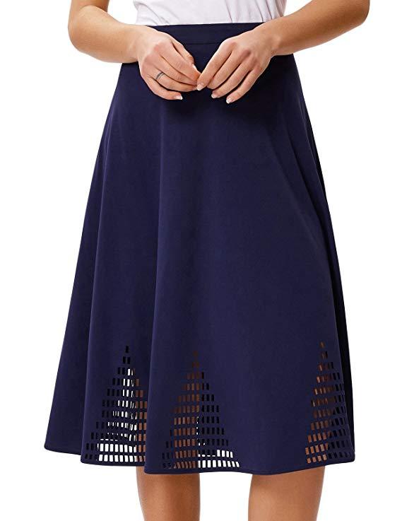 Của phụ nữ màu rắn A-line váy bùng váy và chân dài dây giày thiết kế váy dài