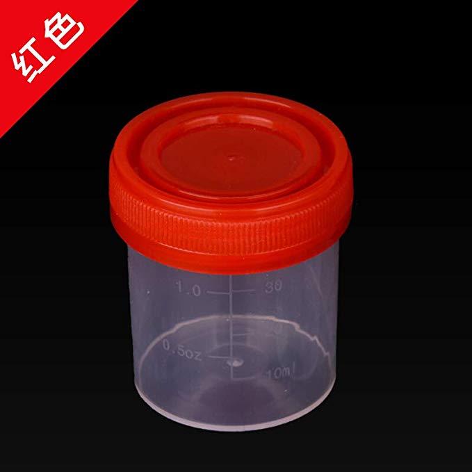 Đo nhỏ cup bếp nướng kiểm tra thí nghiệm trình diễn công cụ nhựa với bìa quy mô minh bạch 40 ml ml c