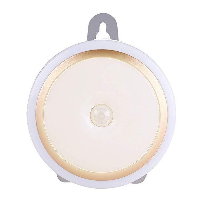 Không dây điều khiển từ xa dẫn ánh sáng ban đêm phòng ngủ sáng tạo thông minh ánh sáng hành lang nhà