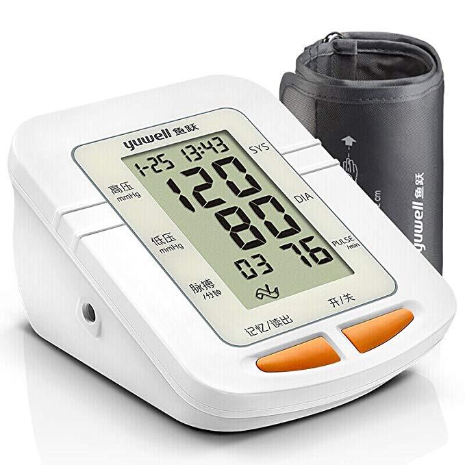 YUWELL lặn huyết áp điện tử màn hình nhà thông minh trên cánh tay loại YE660C huyết áp dụng cụ đo lư