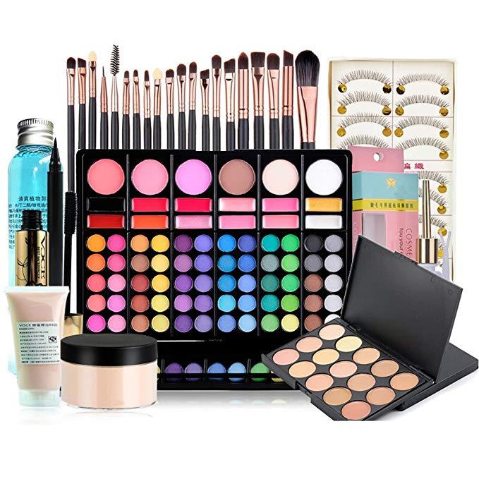 Yuluo make-up  công cụ trang điểm gồm 29 sản phẩm dành cho người mới bắt đầu makeup