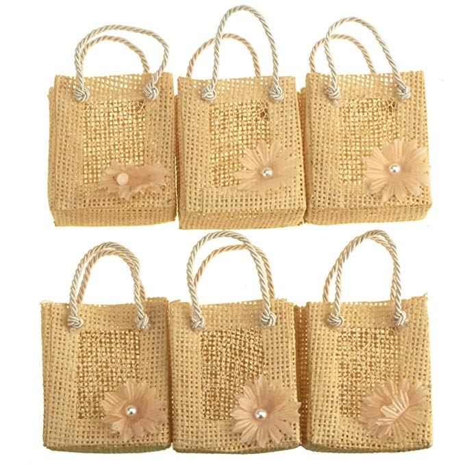 Homeford Mini Gift Tote, Daisy, 27,94 cm, 6 Piece Đặt 1,00