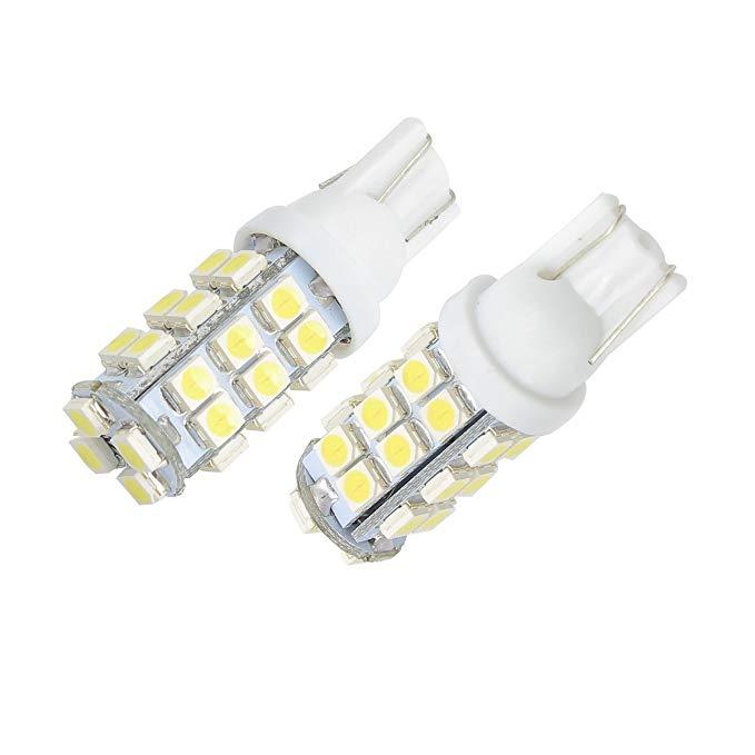 Merdia Metia LED Giấy phép mảng Lights Đèn rộng Đèn chạy Đèn cụ Đèn đọc sách T10 Hạt đa ánh sáng Đèn