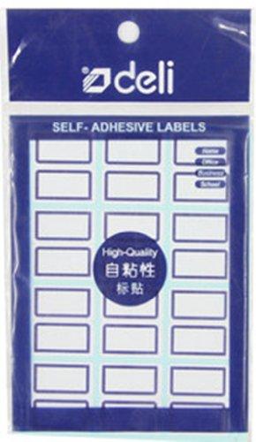 Deli Deli 7194 Nhãn Tự dính Nhãn Dán Nhãn Viết Tay Nhãn Giấy Chữ Ký Sticker 24 * 27 mét * 12 sheets