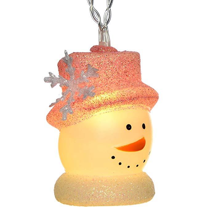 WeRChristmas LED Snowman Chuỗi Giáng sinh trang trí - Nhiều màu