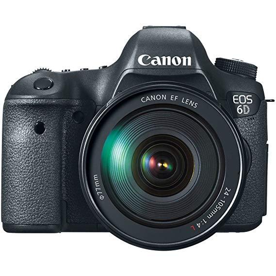 Canon Canon EOS 6D Máy ảnh kỹ thuật số SLR đầu đơn (EF 24-105mm f / 4L IS USM)