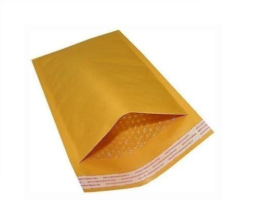 25 gói # 3 8.5x14.5 giấy kraft túi bong bóng giao thông vận tải phong bì nhựa pouch tự niêm phong, P