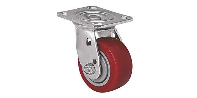 Máy đúc bánh xe bằng thép không gỉ Máy cán thép không gỉ hạng nặng 4 inch 350Kg phẳng-top phổ quát c