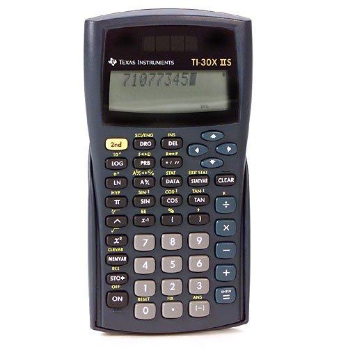 Máy tính khoa học IIS TI-30 X, 10 chữ số LCD 1 gói 1 gói cho mỗi gói