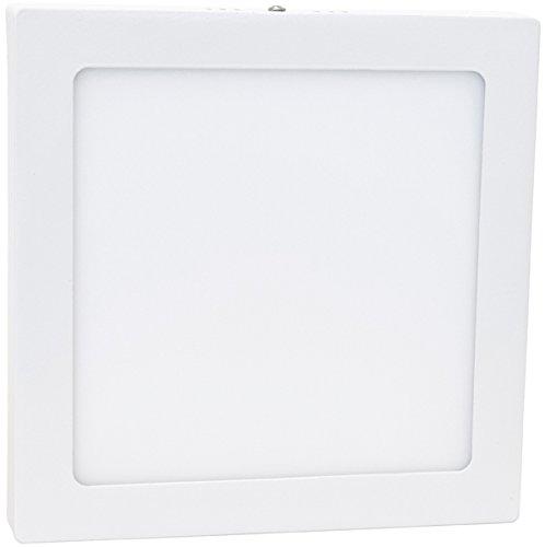 Đèn LED vuông Hepoluz LED, ban ngày, 28 W, trắng