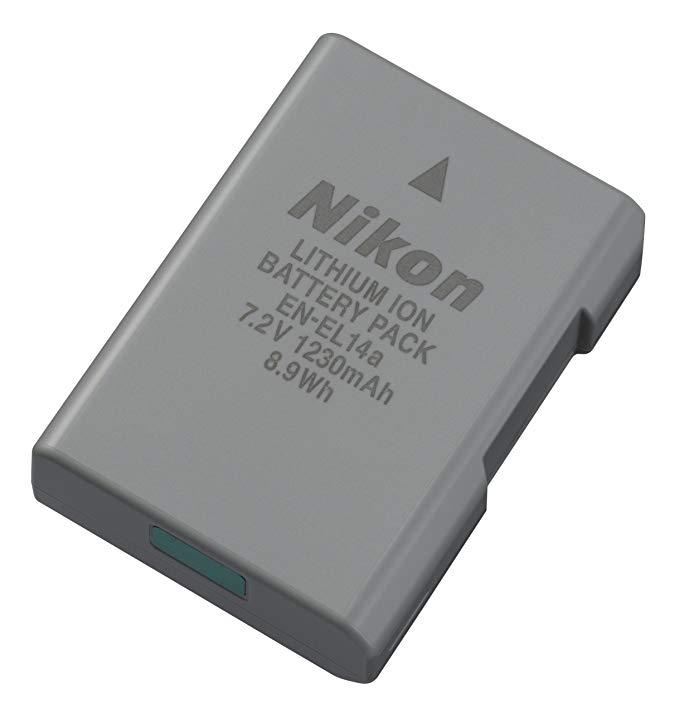 Pin lithium có thể sạc lại của Nikon Nikon EN-EL14a