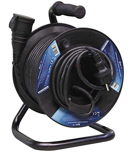 EMOS p08125 Đơn vị phân phối điện (PDU) - tiêu chuẩn, đen, 230 V, 16 A