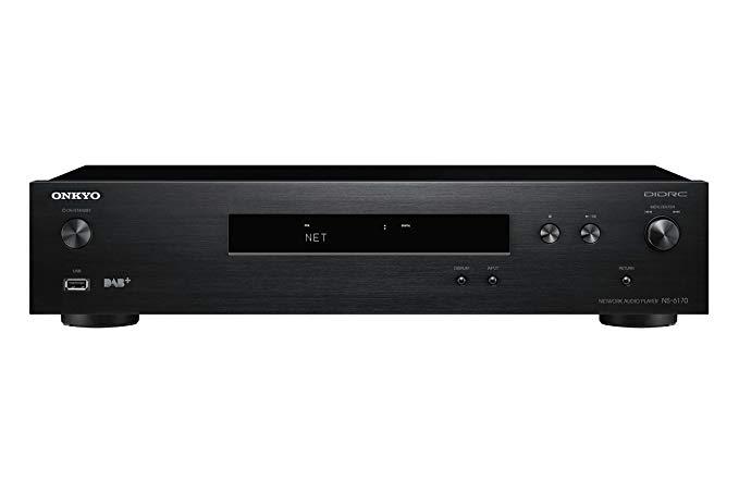 Onkyo NS-6170-B Mạng Audio Player - Đen