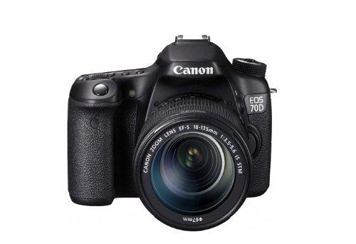 Máy ảnh kỹ thuật số Canon EOS 70D (EF-S 18-135mm f / 3.5-5.6 IS STM)