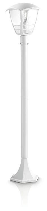 Philips mygarden, lạch đèn đường phố với 60 W, 1 - ngọn lửa trắng