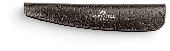 Faber Castell 189311 thể thao điện tử nắp da trường hợp, hạt, nâu
