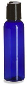 WM (24 gói) 56,7 ml chai nhựa PET có thể đổ đầy, chai PET màu trắng với mâm cặp màu đen - Mfg. Hoa K