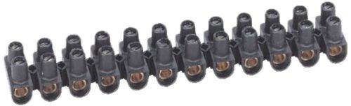 Cổng kết nối Legrand Nylbloc - 2 ốc vít / đầu cuối màu đen 25 mm 101 A LEG98434
