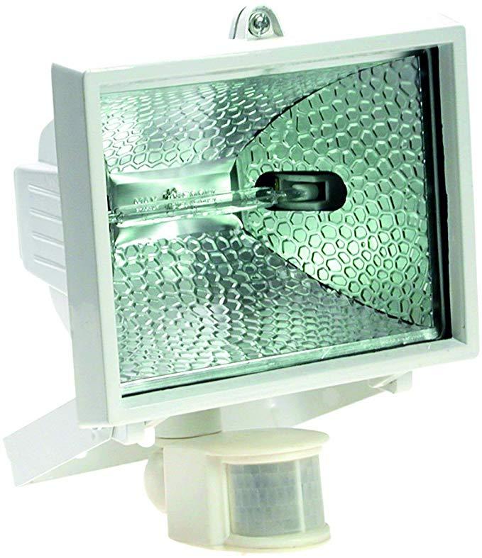 As - Đèn pha halogen Schwabe 43151 150 watt với máy dò chuyển động trắng