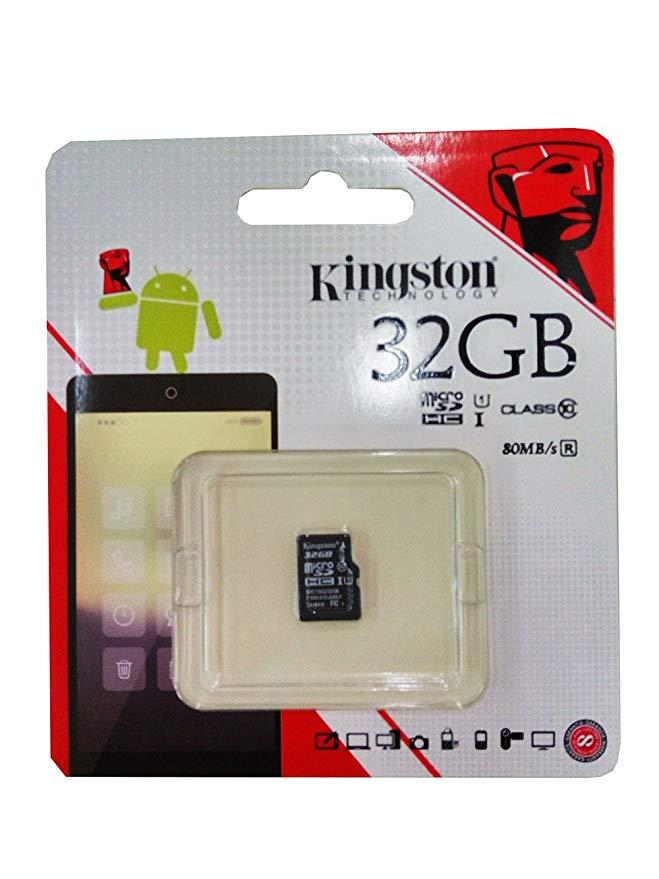 Thẻ nhớ 32G Tốc độ đọc thẻ nhớ USB tốc độ cao 32G của Kingston (micro SD) Thẻ nhớ tốc độ cao 80MB /