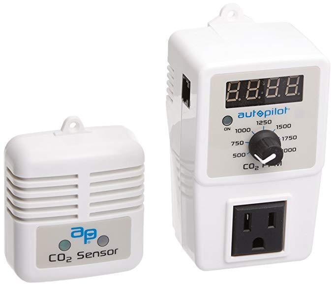 Hydrofarm Autopilot PPM-5 Hiển thị và bộ điều khiển Co2 với cảm biến từ xa