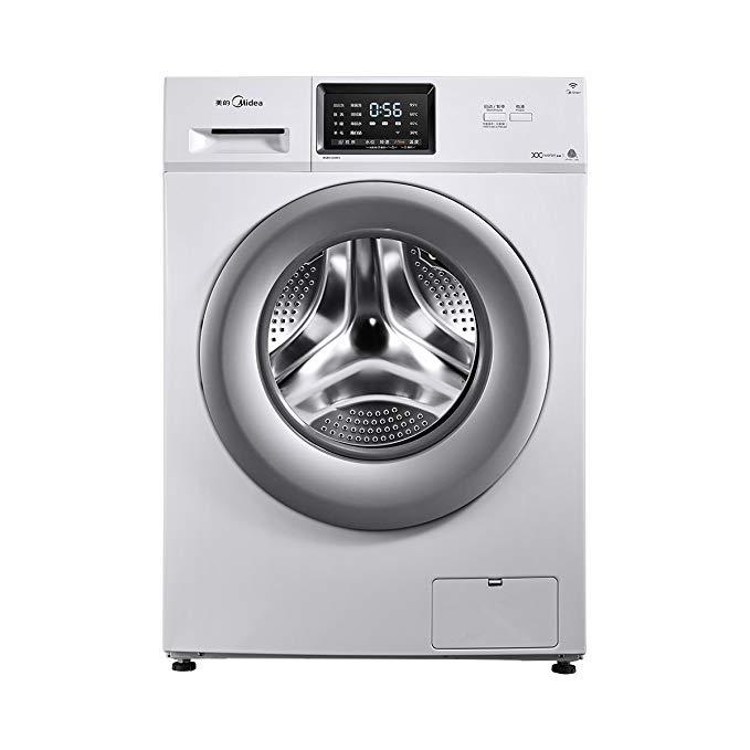 Midea / Midea MG80V330WDX dưới cống máy giặt trống 8 KG chuyển đổi tần số cấp độ 1 hiệu quả năng lượ
