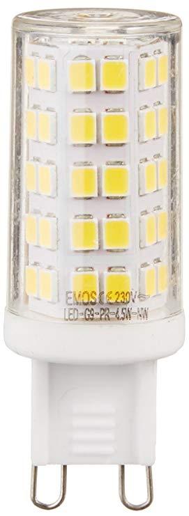 Emos ZQ9541 A + Cổ Điển + Bóng Đèn LED JC Màu Trắng Trung Tính Cuộc Sống Lâu Dài G9 Glass, trong suố