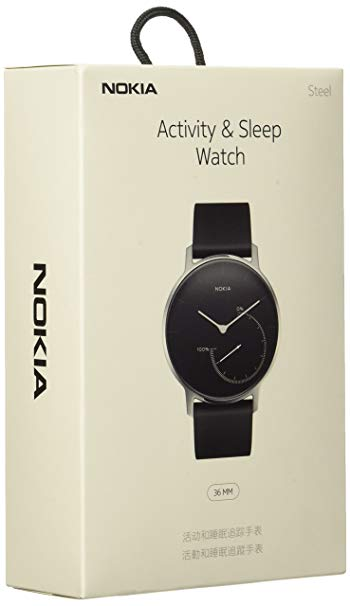 Nokia Đồng hồ thông minh Nokia Watch Xem đồng hồ thể thao Đồng hồ thời trang Đen
