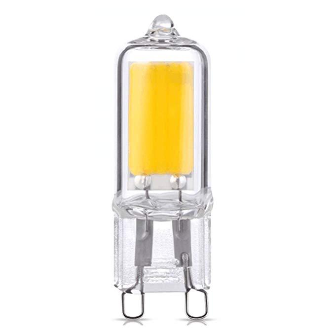 BestBenefic Baiyin 250 lumens G9 bóng đèn LED hạt đèn 2W thay vì đèn halogen 25W (1, ánh sáng ấm 300