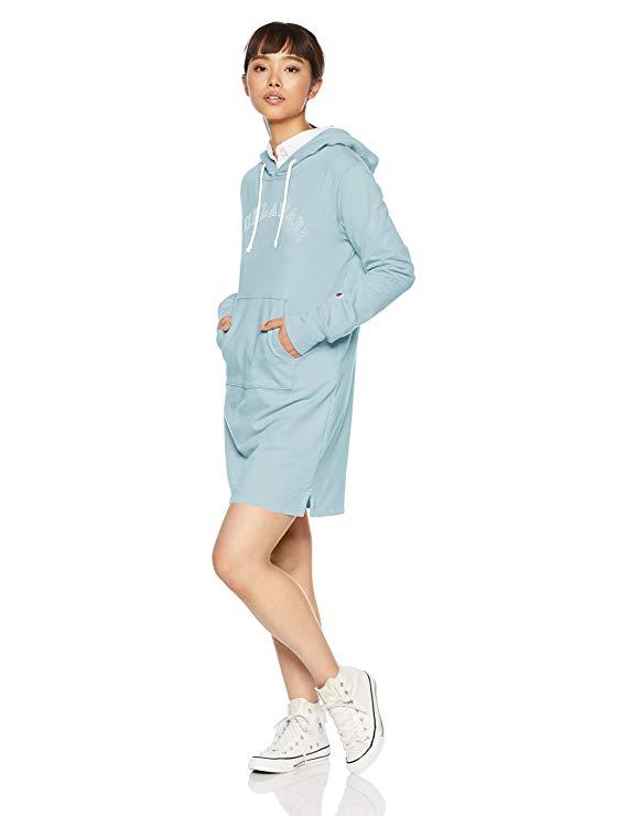 [Champion] Mồ hôi trùm đầu áo len đầm CW-N103 nữ mô hình