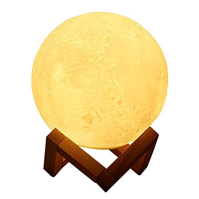 Ánh sáng mặt trăng, Ánh trăng mặt trăng, Ánh sáng ban đêm, In 3D ánh sáng mặt trăng, Điều khiển cảm