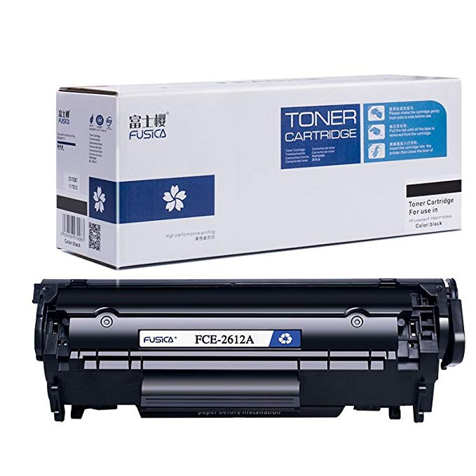 Fusica Fuji Sakura FCE-2612A Toner Cartridge Cho HP HP Q2612A 12A laserjet 1010 M1005 1012 1020 1022