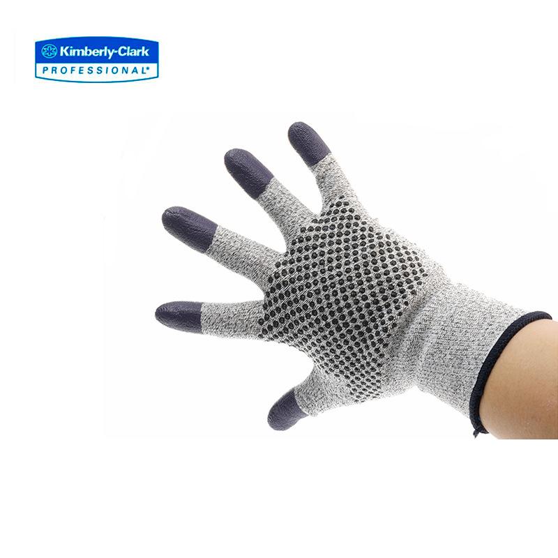 Kimberly 96109-L G60 5 phòng cắt lớp phủ không găng tay, 12 phó / gói, 5 túi / thùng 96108-