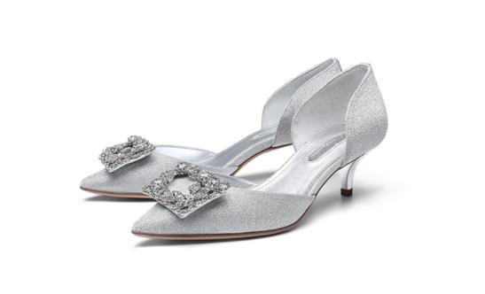 Giày cao gót nữ màu ánh kim ZSAZSAZSU ZA98108-80