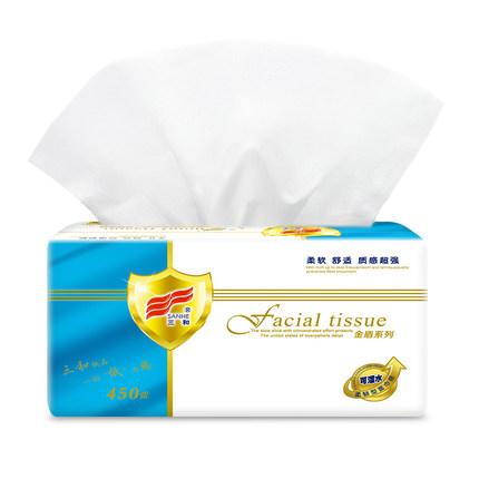 Ba và khăn giấy 8 gói khăn ăn gia đình mặt mô nhà nước hoa nước hoa miễn phí giấy bé bé có sẵn