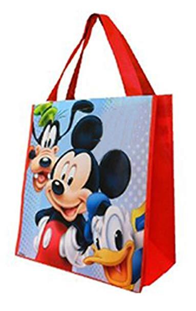Disney Mickey và bạn bè không dệt túi (3 miếng) bên quà tặng